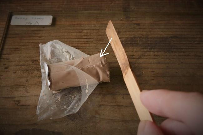 金継ぎで使うエポキシパテの使い方