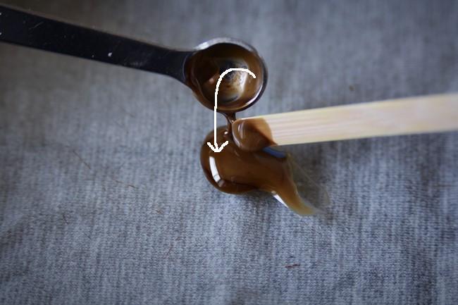 金継ぎ修理で使う麦漆の作り方