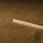 器の削り作業で使うダイヤモンドビット