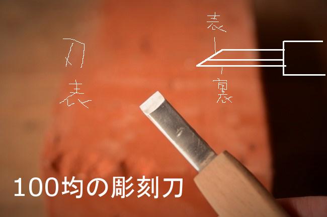 金継ぎで使う彫刻刀