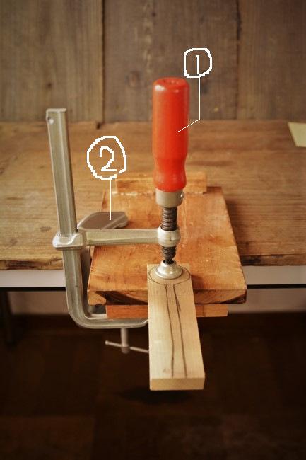 木製スプーンの作り方