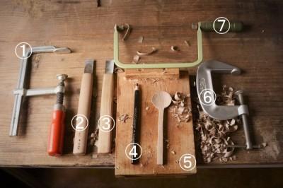 木のスプーンを自分で作る