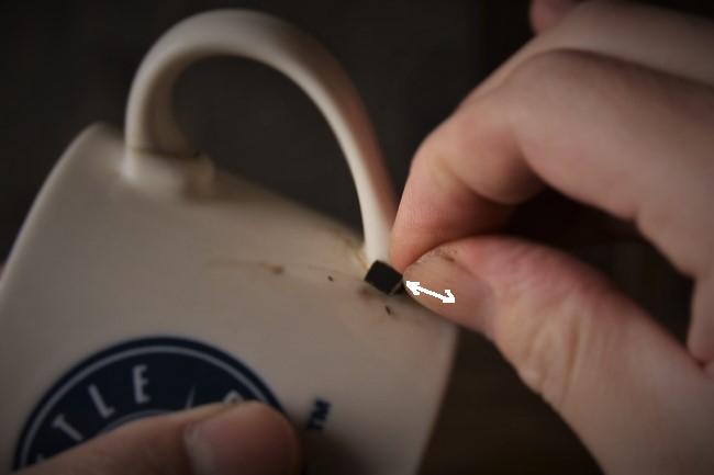新うるし錆を耐水ペーパーで研ぐ