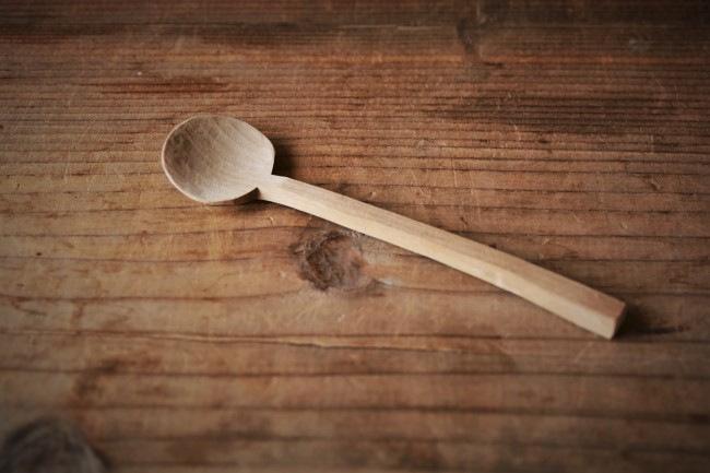 木のスプーン作り、完成