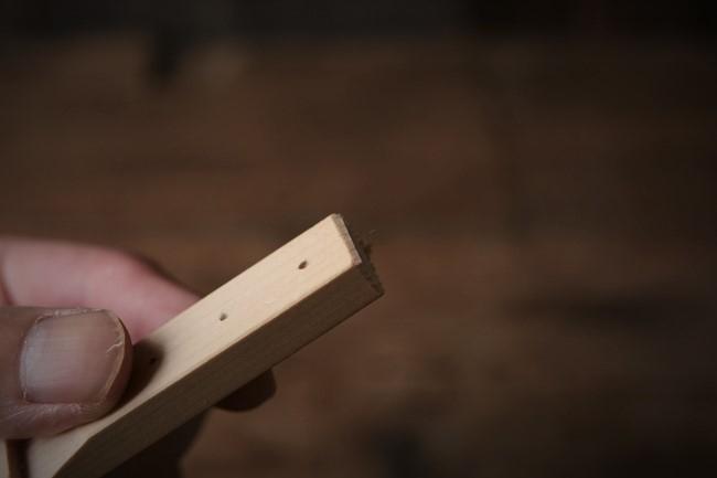 金継ぎで使うヘラ置きの作り方