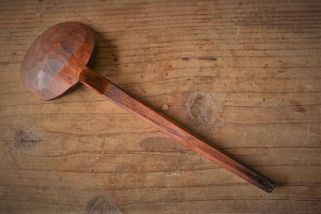 木の食器に生えたカビを拭き漆で隠す方法