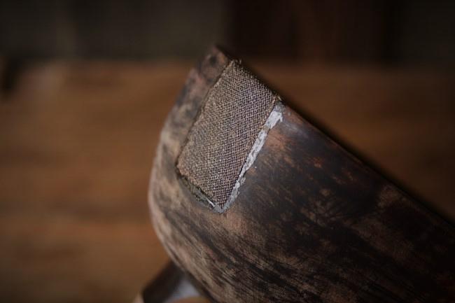 ひびの入った木の器の修理のやり方