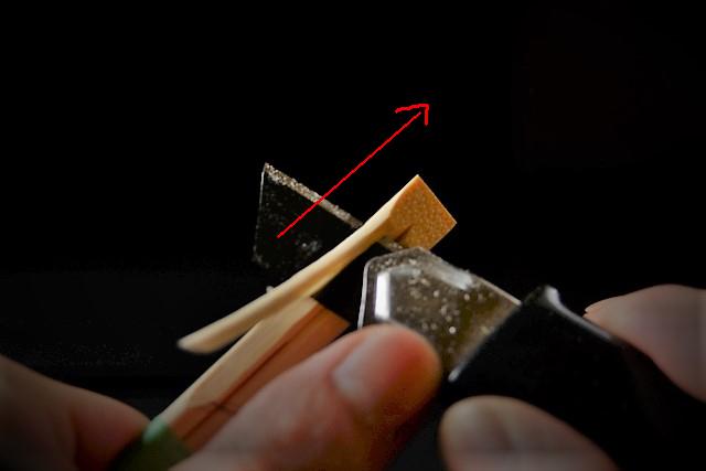 金継ぎで使う練る用のヘラ