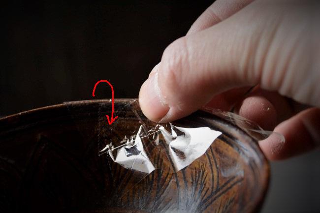 お茶碗の金継ぎ修理の方法