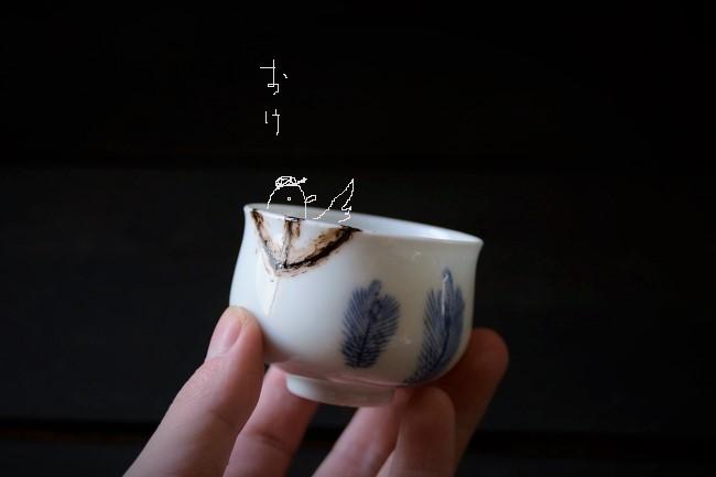 割れた湯呑の金継ぎ修理のやり方