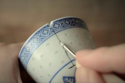 金継ぎで使うダイヤモンドヤスリのカスタマイズ方法