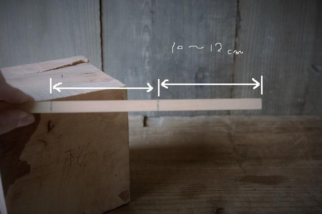 木の板は2枚用意する