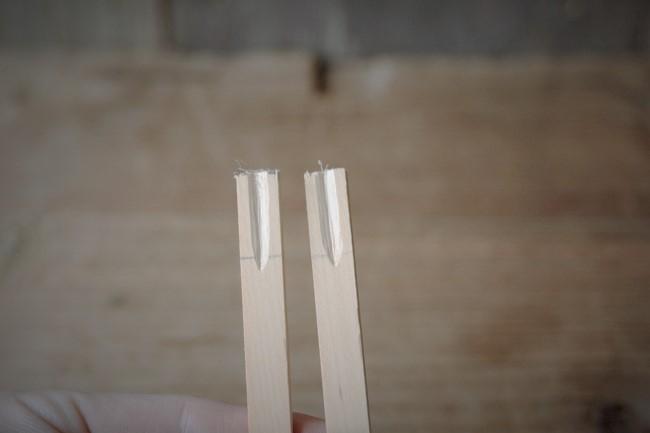 2枚とも溝を彫る