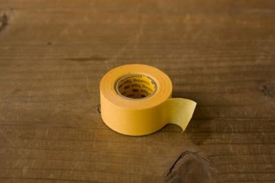 マスキングで使うマスキングテープ
