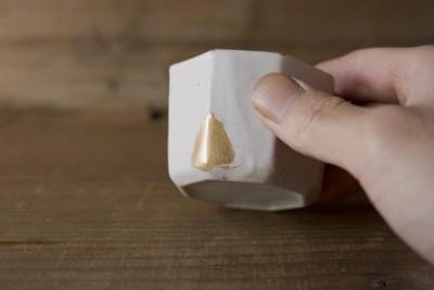 井山三希子の小鉢の金継ぎ修理