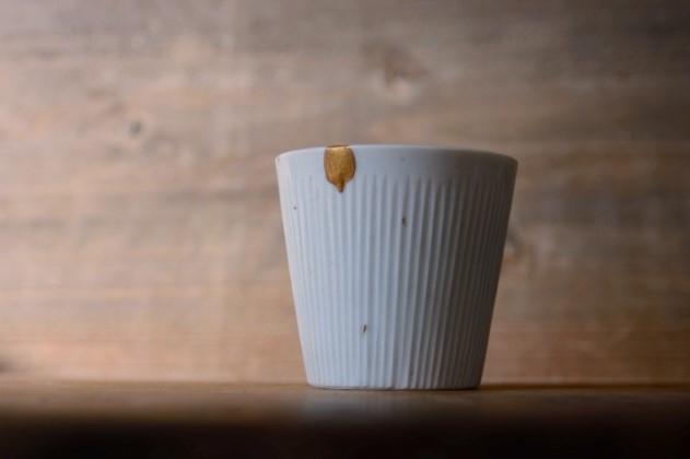 上泉秀人のコップの金継ぎ修理