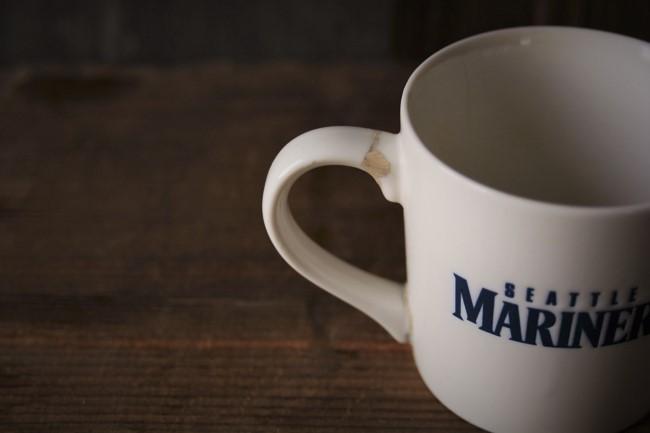 新うるし錆でのマグカップの修理
