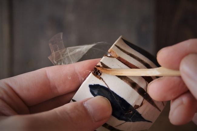 金継ぎの刻苧漆が乾かなかった時の対処の方法
