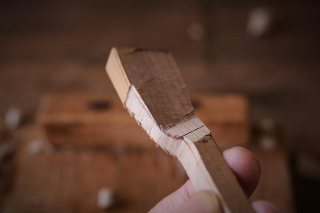 木製アイス・スプーンの作り方